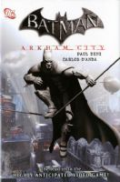 Batman Arkham City - Hardcover/Graphic Novel